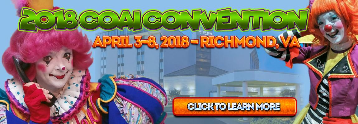 2018 COAI Convention Richmond, VA